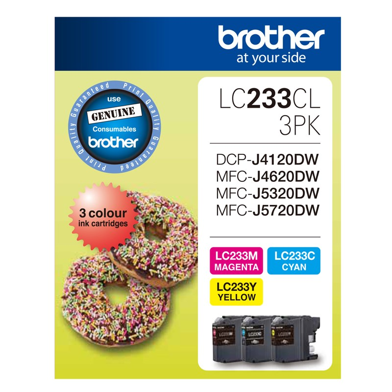 Brother LC-233 Value Pack