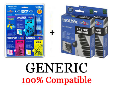 Brother Generic LC-57 Pack