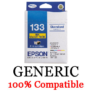 Epson Generic T133 Value Pack