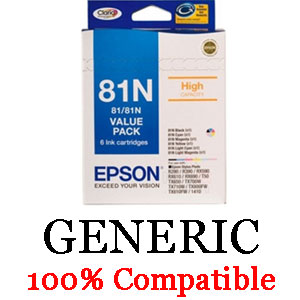 Epson Generic 81N Hi Value Pack