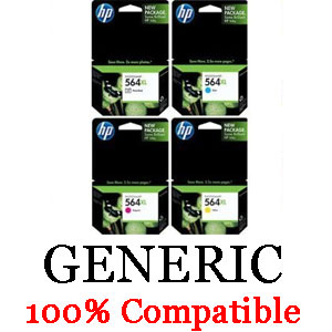 HP Generic 564XL Plus Pack