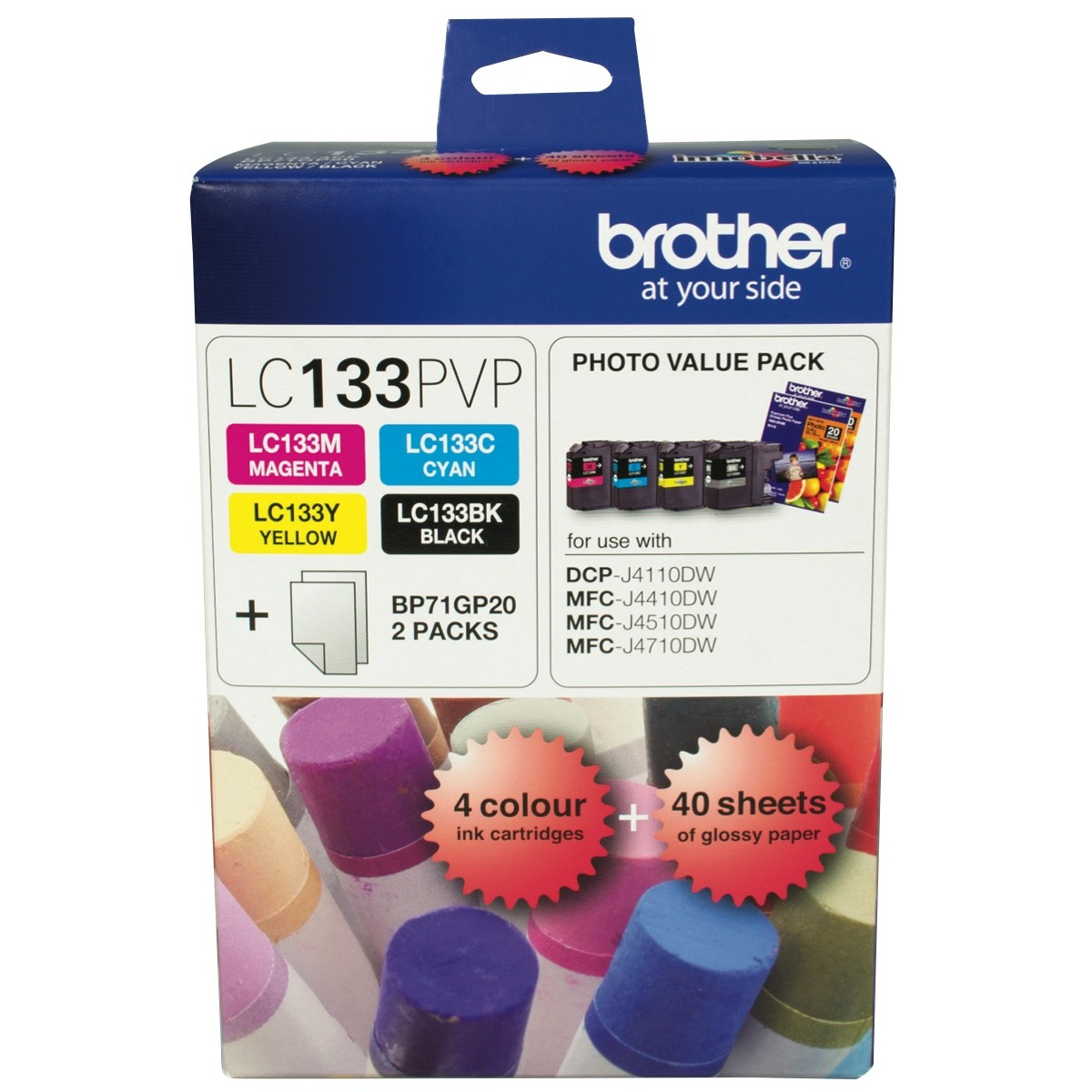 Brother LC-133 Value Pack